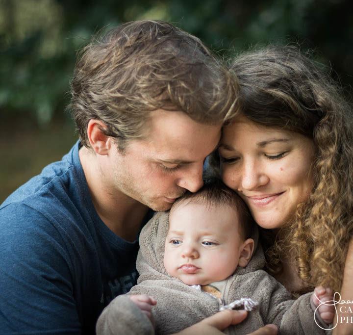 Laura, Antoine & Malo - Famille